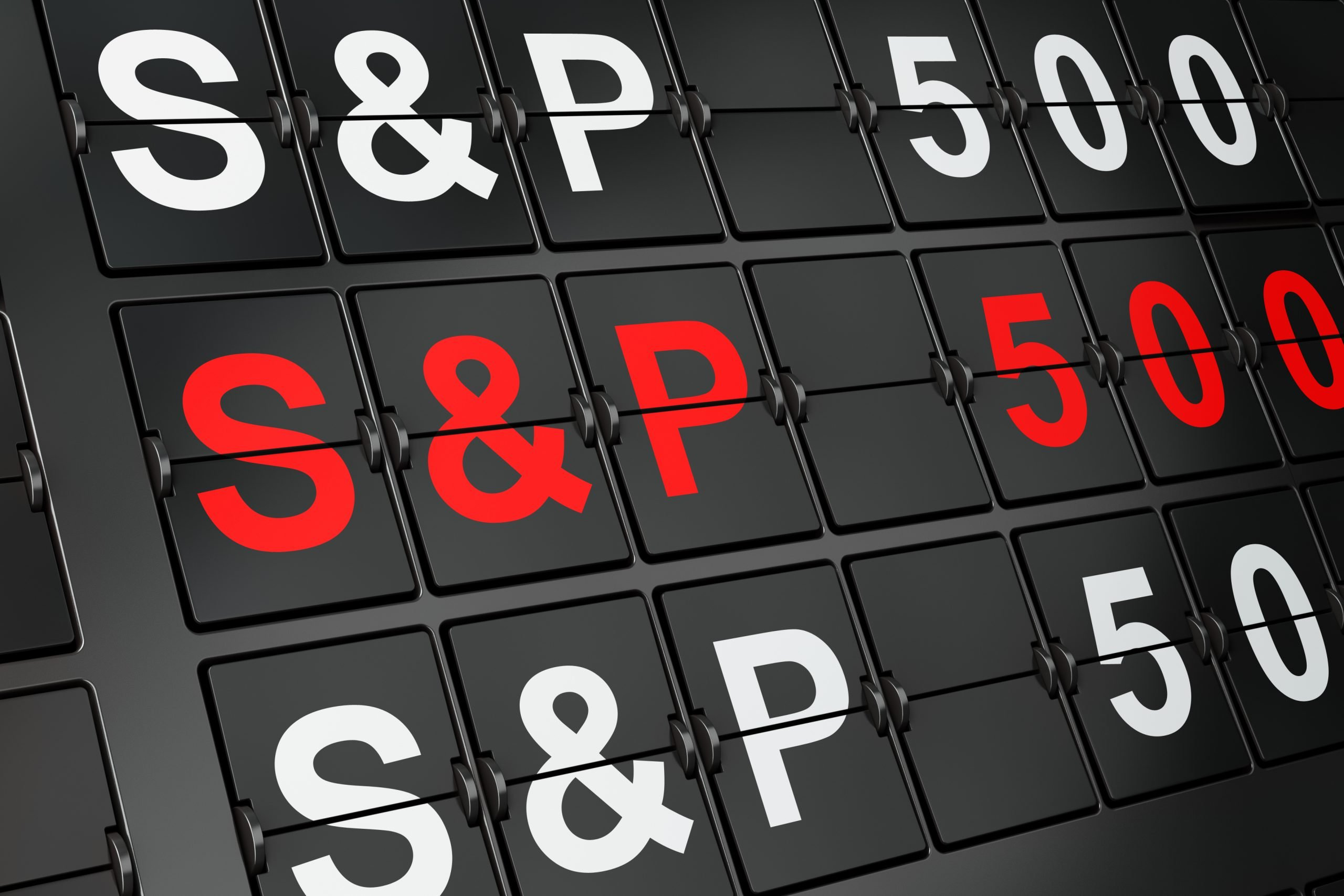 S&P 500 returns 2019
